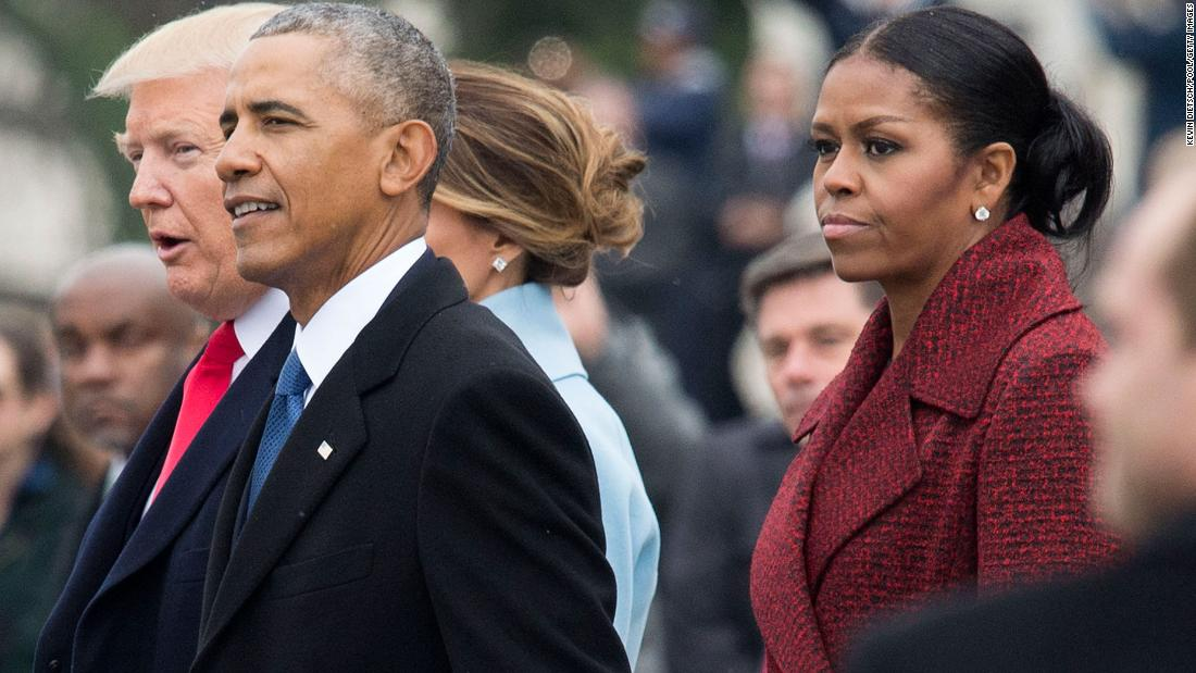 Michelle Obama opens up on Trump's inauguration
