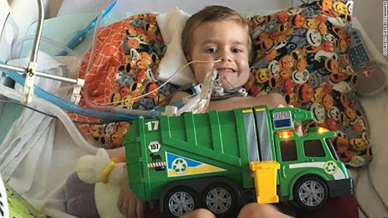 In 2016, when Alex Bustamante was five years old, he had a headache, and then the next day developed paralysis. He became a paraplegic and a ventilator breathed for him. He died in May of this year.