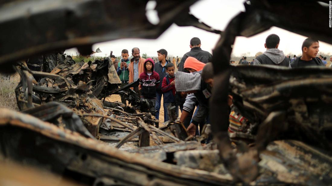Barrage of rockets launched at Israel following botched Gaza operation