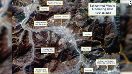 Images show N. Korea improving missile bases