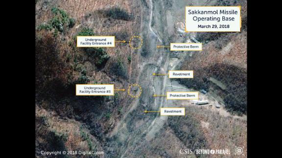 Sakkanmol Missile Operating Base, March 29, 2018.