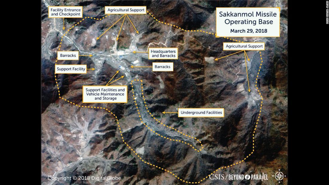 Images reveal hidden North Korean missile bases