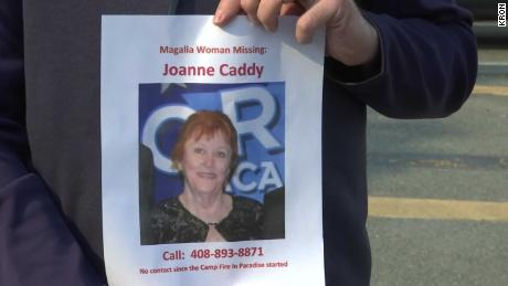 Joanne Caddy has been missing since Thursday.