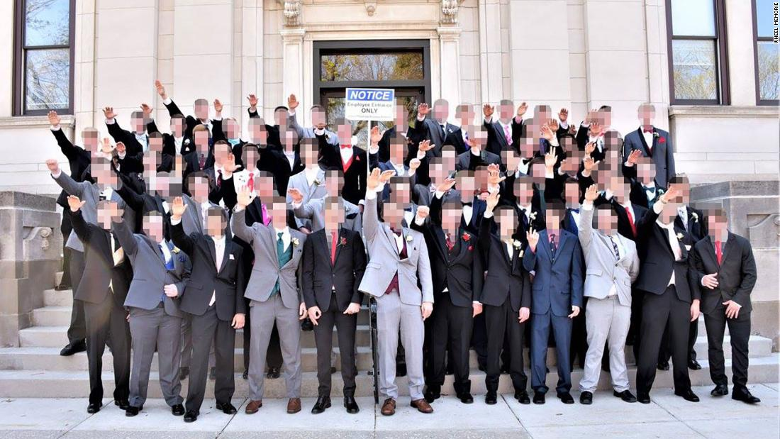 A group of Wisconsin high schoolers posed in apparent Nazi salute last spring. Now police are investigating