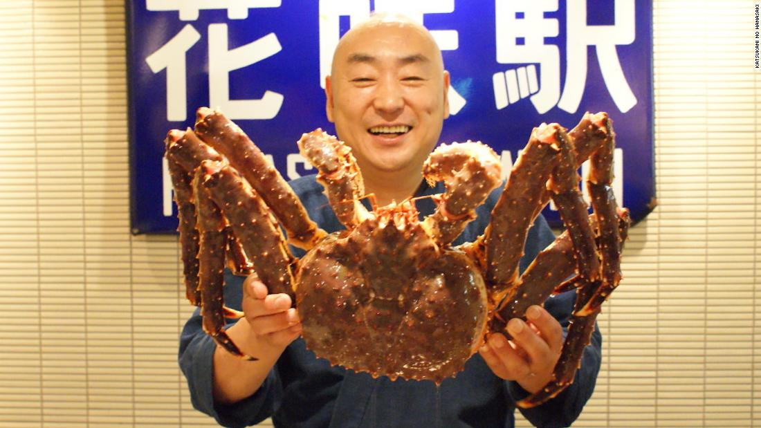 Welcome to Sapporo, crab capital of Japan (and maybe even the world)