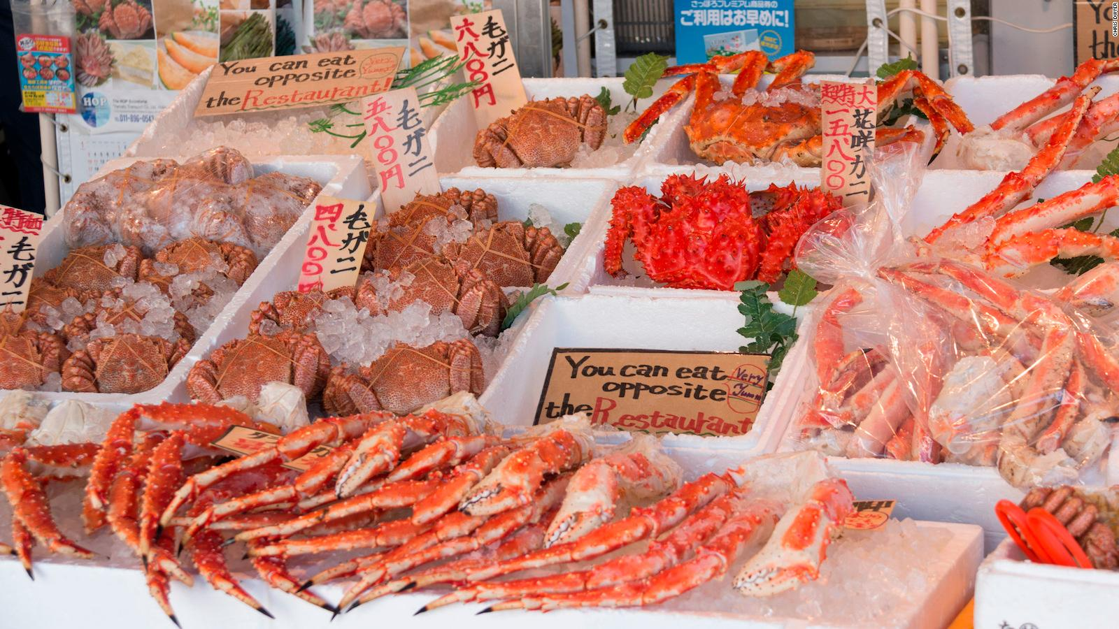 Sapporo is Japan's crab capital