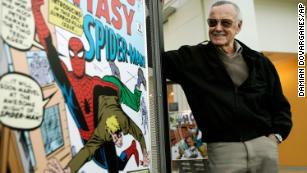 漫威漫画人物Stan Lee,死于95岁