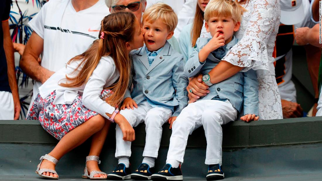 Roger Federer S Sons Have Started To Play Tennis Cnn