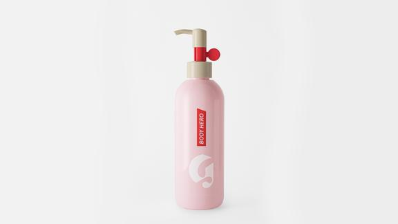 Beauty and skin care Christmas gift ideas: Glossier Body Hero Daily Wash ($18; glossier.com)