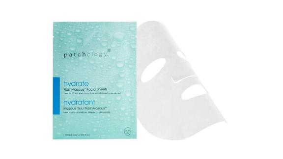 Beauty and skin care Christmas gift ideas: Patchology FlashMasque Hydrated Mask ($8; bluemercury.com)