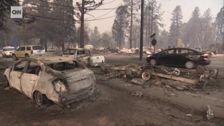 Carr Fire in Northen California kills 2, destroys hundreds