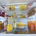 Refrigerator comida se arrunia en el freezer