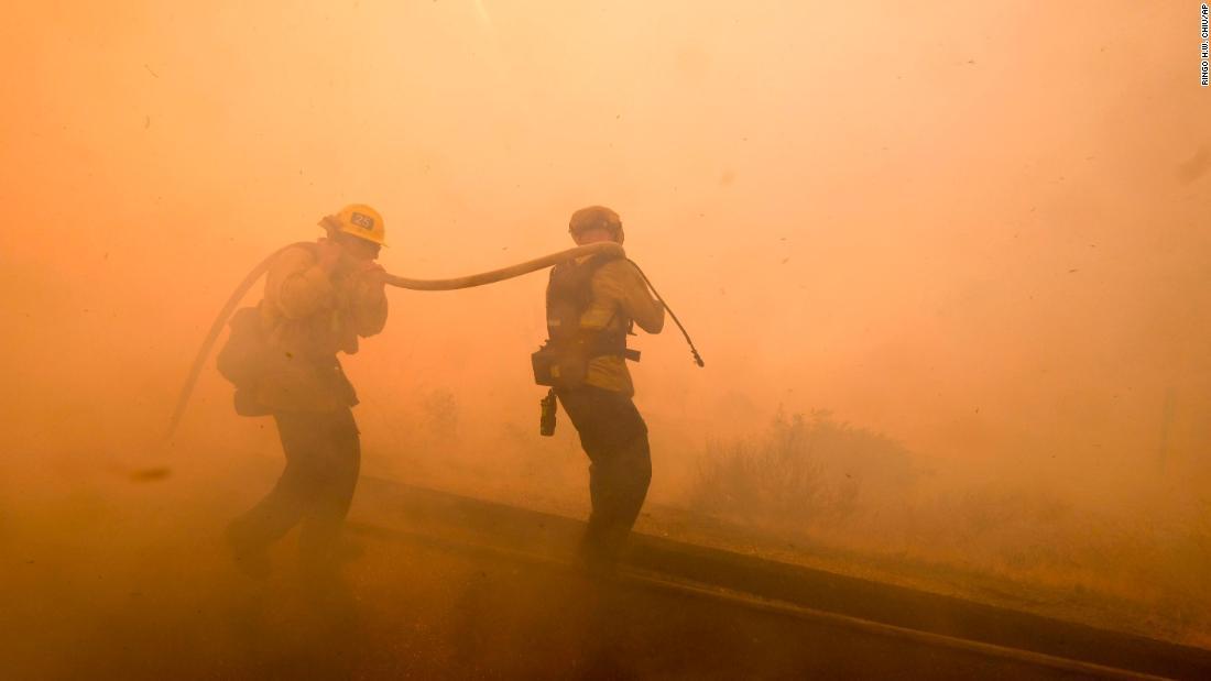 California's tough battle against killer fires rages on