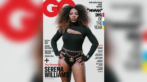 Williams features in one of four covers in the December issue of GQ