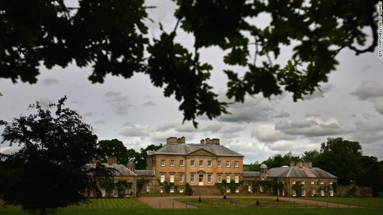 The Dumfries House in Ayrshire, Scotland.