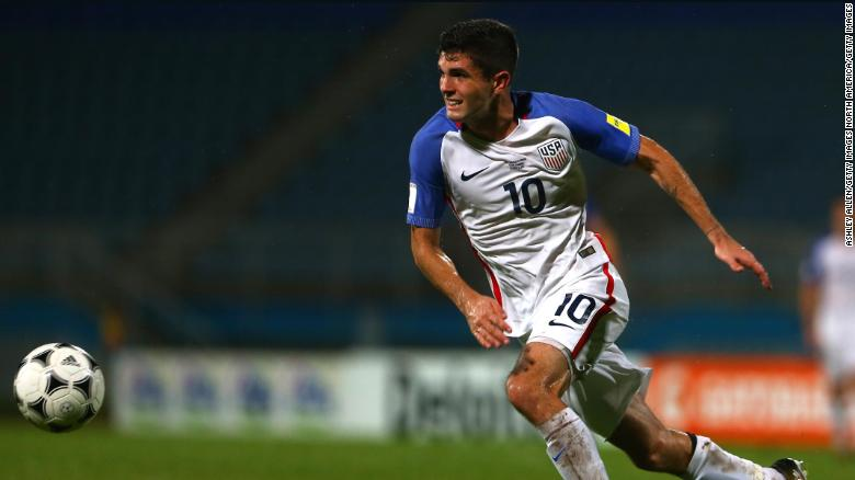 Pulisic is likely to start for the USA in their friendly against England.