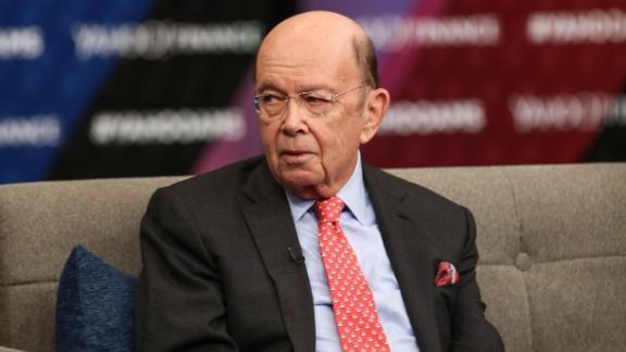 Commerce Secretary Wilbur Ross (right) is pictured at a Washington D.C. event on in November 2018. (Photo by Tasos Katopodis/Getty Images for Yahoo Finance)