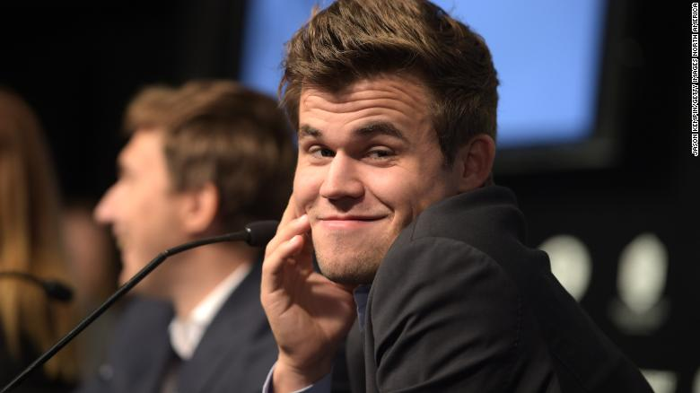 Magnus Carlsen has been the world champion since 2013.