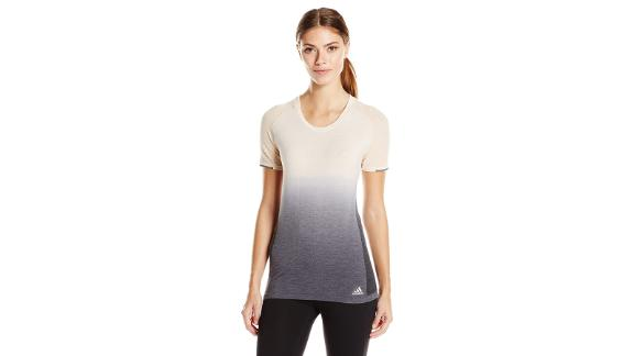 Christmas gift ideas for health and fitness enthusiasts: Adidas Women's Running Knit Tee (starting at $24.29; amazon.com)
