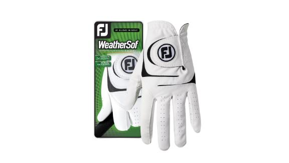 Christmas gift ideas for health and fitness enthusiasts: WeatherSof Men's Golf Gloves ($13; footjoy.com)