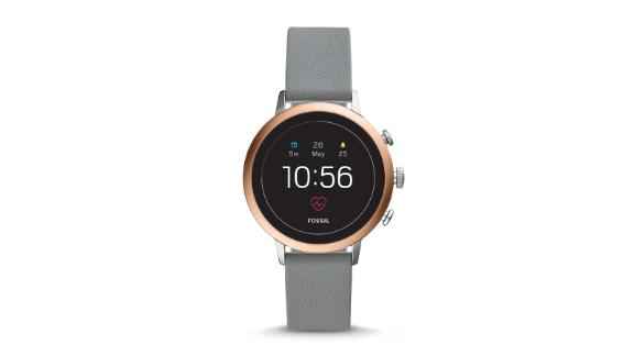 Christmas gift ideas for health and fitness enthusiasts: Fossil Gen 4 Smartwatch ($255; fossil.com)