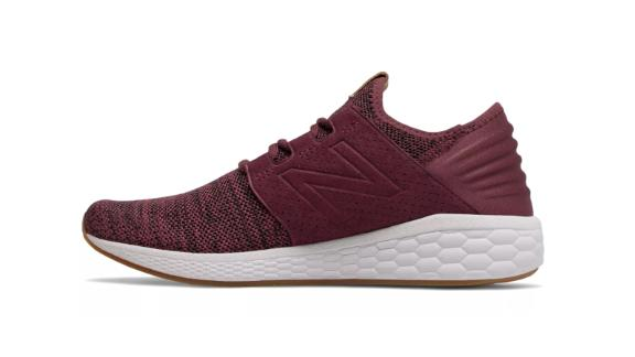 Christmas gift ideas for health and fitness enthusiasts: New Balance Men's Fresh Foam Cruz v2 Knit Sneakers ($69.99; newbalance.com)