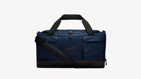 Christmas gift ideas for health and fitness enthusiasts: Nike Vapor Power Training Duffel Bag ($70; nike.com)