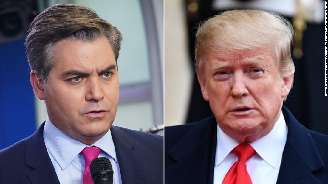 Judge orders White House to return Jim Acosta's press pass