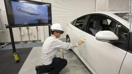 Toyota is using HoloLens to build cars faster - CNN