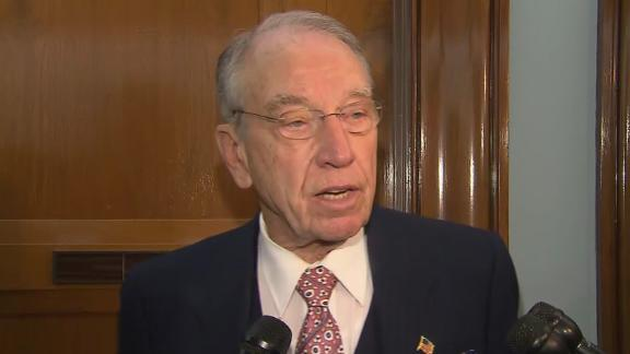 Senate Judiciary Chairman Chuck Grassley on 11/13.