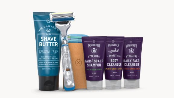 Grooming Christmas gift ideas: Dollar Shave Club Starter Set ($10; dollarshaveclub.com)