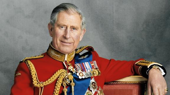 Prince Charles poses for an official portrait in November 2008.