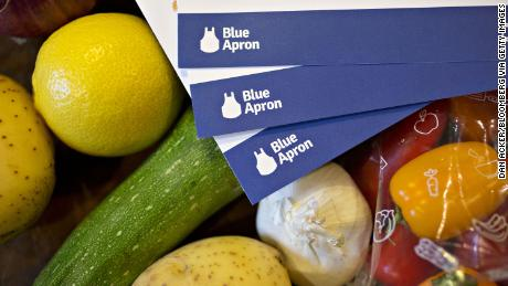 Blue Apron announces more layoffs as sales sink