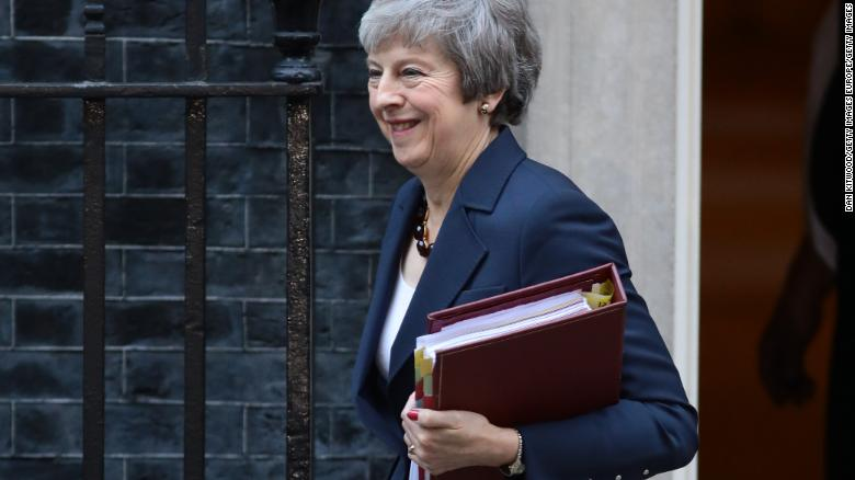 ac92762cb Theresa May Fast Facts - CNN
