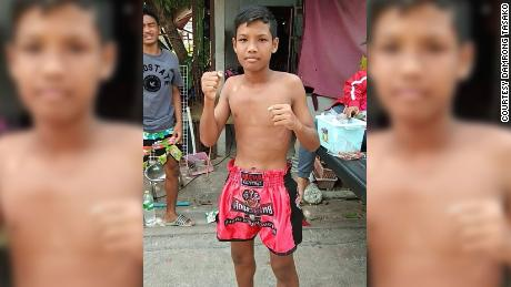 Deceased Muay Thai boxer Anucha Tasako first fought in the ring when he was 8 years old.
