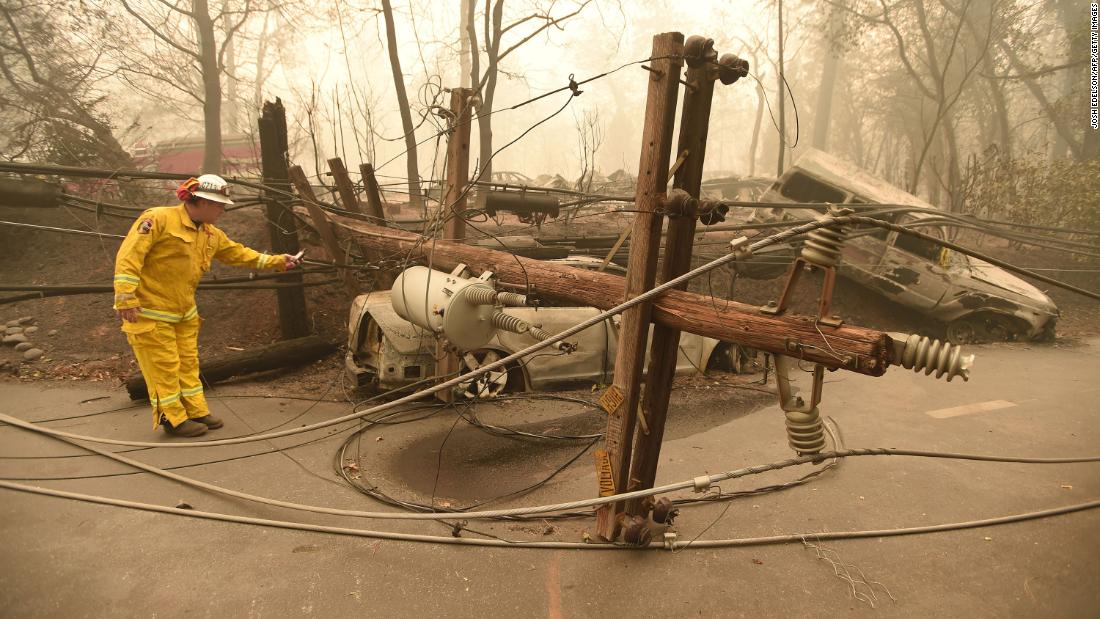PG&E could be in big financial trouble if it's found liable for fire