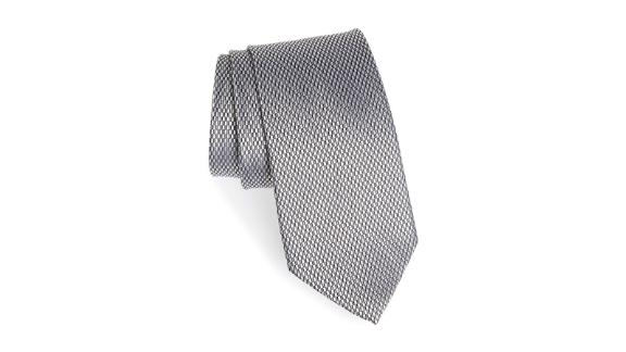 Men's clothing and accessories Christmas gift ideas: Solid Silk Tie ($47.70; nordstrom.com)