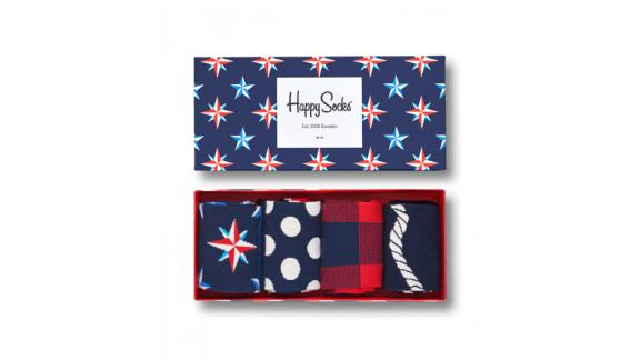 Men's clothing and accessories Christmas gift ideas: Happy Socks Nautical Gift Box ($42; happysocks.com)