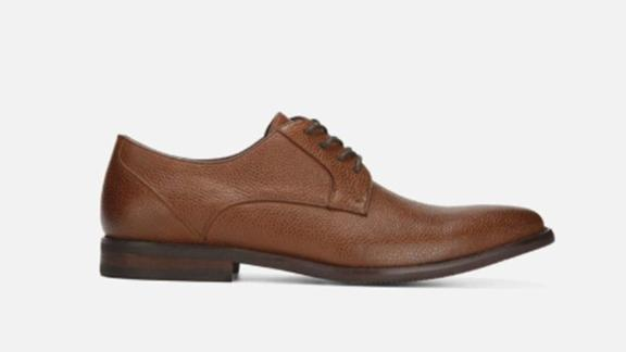 Men's clothing and accessories Christmas gift ideas: Kenneth Cole Brandy Plain Toe Derby Oxford ($49.99; kennethcole.com)