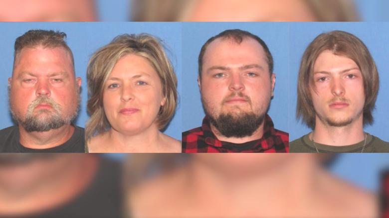 Four charged with murder in Ohio family killings