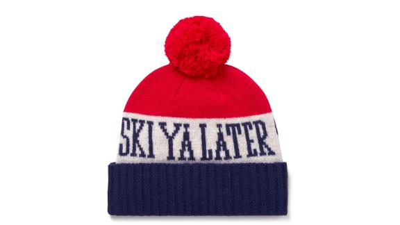 Women's clothing and accessories Christmas gift ideas: Gant Ski Ya Later Hat ($60; gant.com)