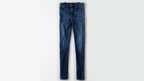Women's clothing and accessories Christmas gift ideas: AE NE(X)T Level Highest Waist Jeans ($49.95; ae.com)