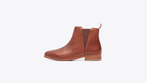Women's clothing and accessories Christmas gift ideas: Nisolo Chelsea Boot ($228; nisolo.com)