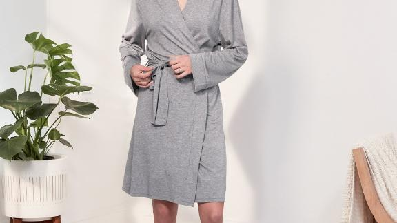 Women's clothing and accessories Christmas gift ideas: ThirdLove Essential Organic Robe ($98; thirdlove.com)
