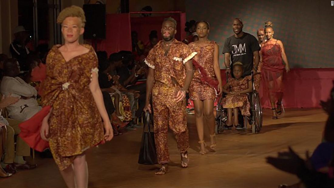 Uganda S Hot Pink Catwalk Fashion Show Celebrates Disabled Models Cnn