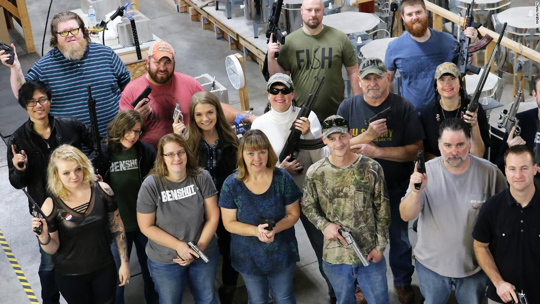Company gives all employees handguns for Christmas