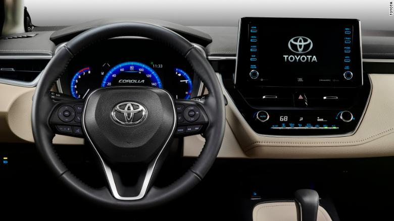 Toyota is promising lots of standard and optional safety technology on the new Corolla sedan.