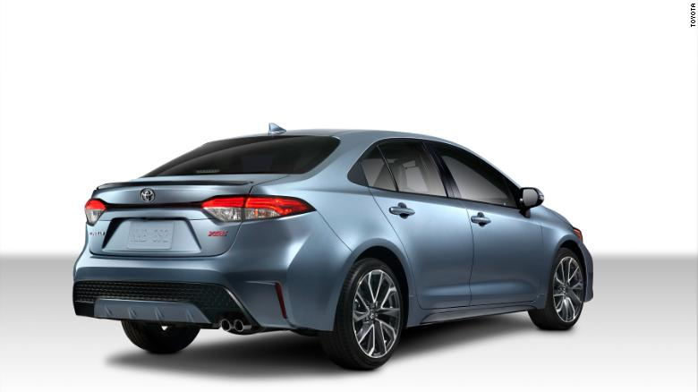 The new Corolla will be available in luxury and sporty versions as well as the base model.