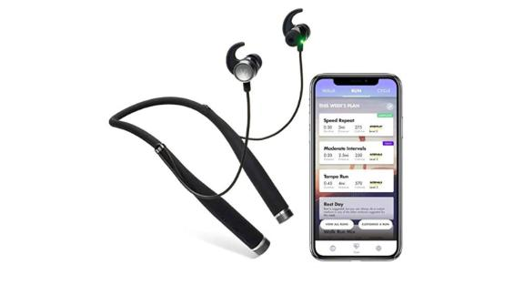 """<strong>VI Sense Wireless Headphones + AI Personal Trainer (phone not included) ($148.92; </strong><a href=""""https://amzn.to/2Q2tMGi"""" target=""""_blank""""><strong>amazon.com</strong></a><strong>)</strong><br />"""