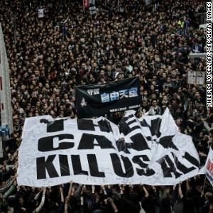 'Death knell' of press freedom in Hong Kong